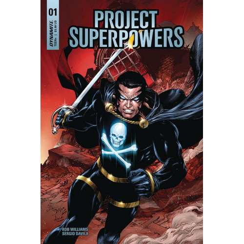 PROJECT SUPERPOWERS 1 COVER B BENES (VO)