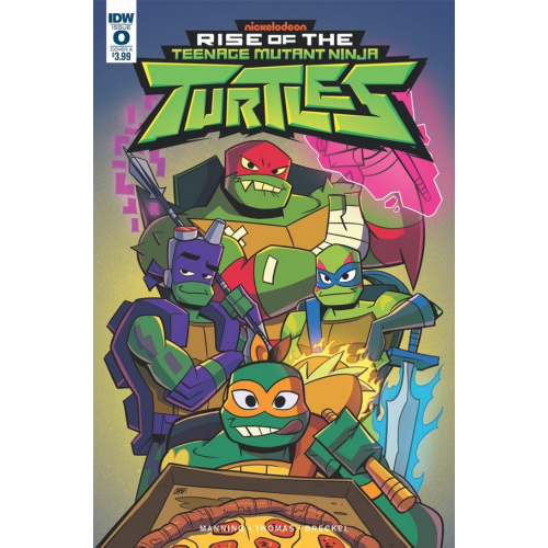 Rise of TMNT 0 Cover A Thomas (VO)