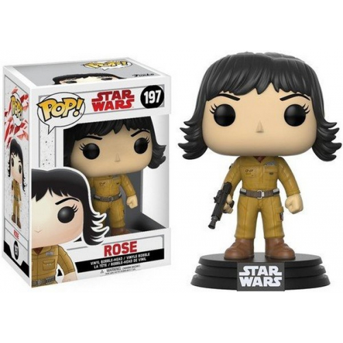 Funko Pop Star Wars The Last Jedi Rose 197