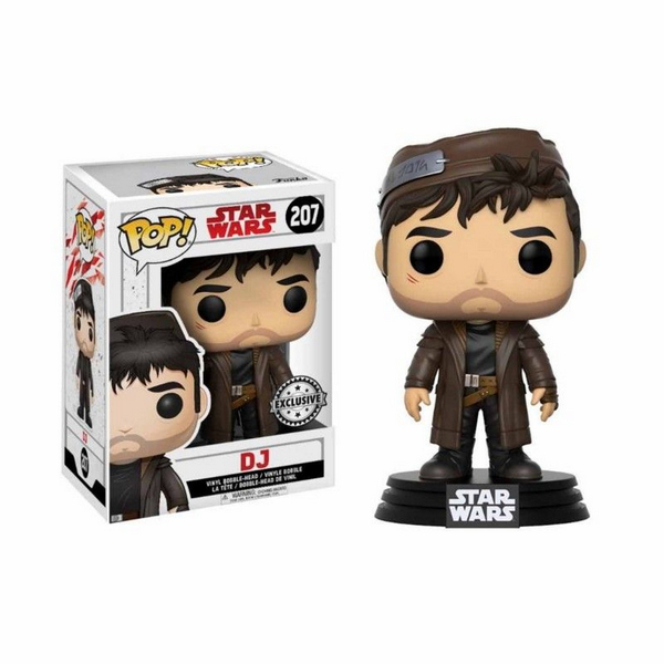 FUNKO POP Star Wars The Last Jedi - DJ Exclusive 207