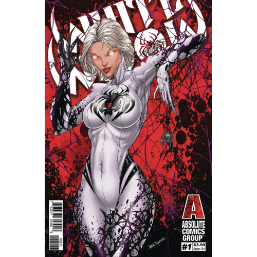 WHITE WIDOW 1 (VO) JAMIE TYNDALL VARIANT RED FOIL COVER