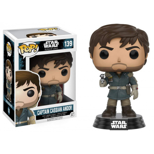 FUNKO POP Star Wars Rogue One Captain Cassian Andor 139