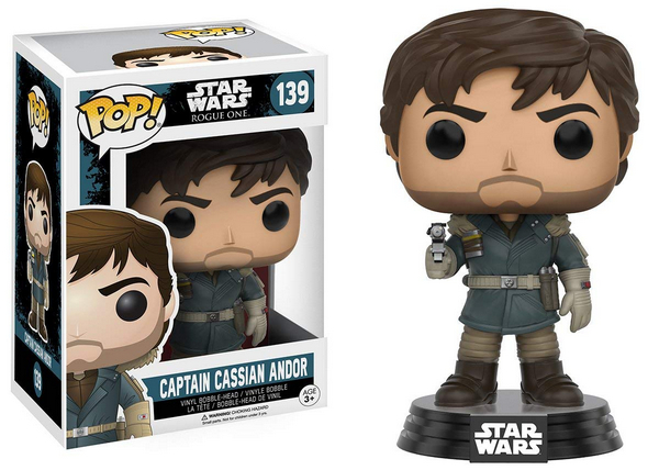 FUNKO POP Star Wars Rogue One Captain Cassian Andor