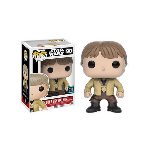 FUNKO POP Star Wars Luke Skywalker 2016 Galactic Convention Exclusive