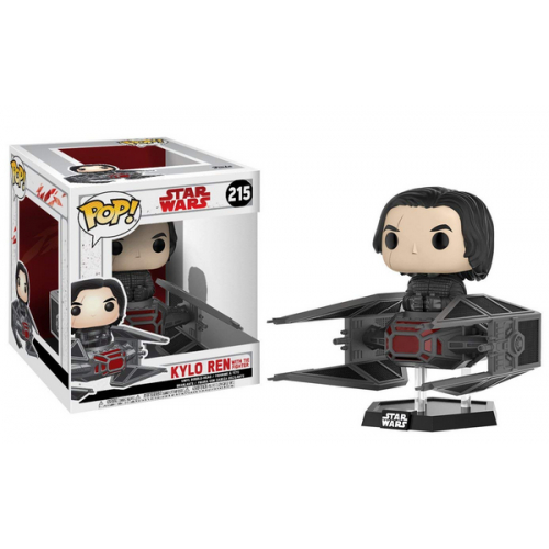 FUNKO POP Star Wars The Last Jedi Kylo With Tie Fighter