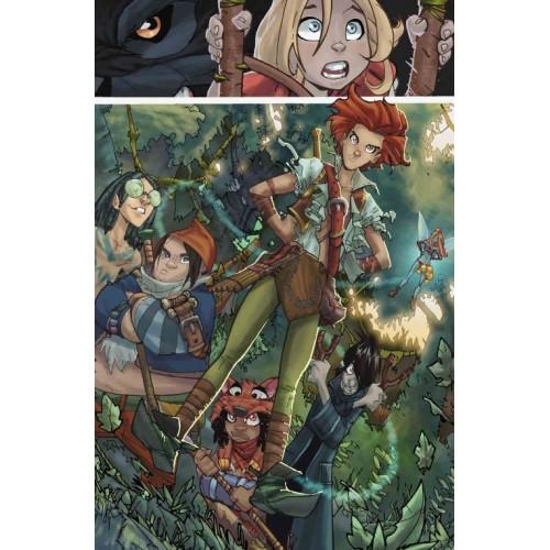 Mini-Print Fairy Quest Serie 1 N°9