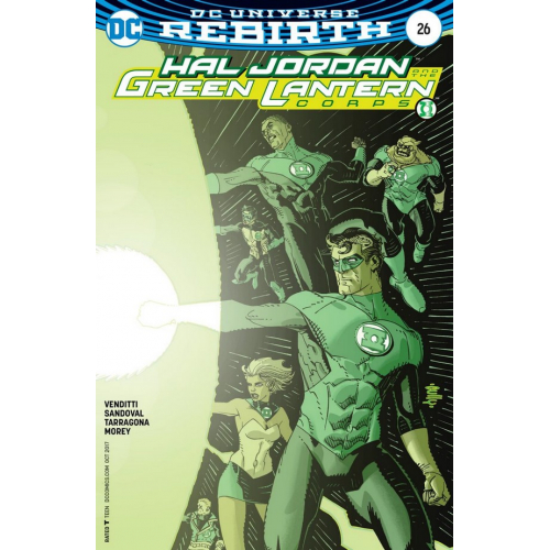 Justice League Rebirth n°16 (VF)
