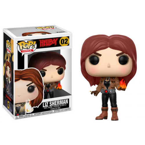 FUNKO POP Hellboy Liz sherman 02