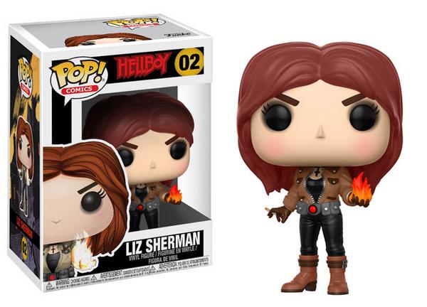 FUNKO POP Hellboy Liz sherman