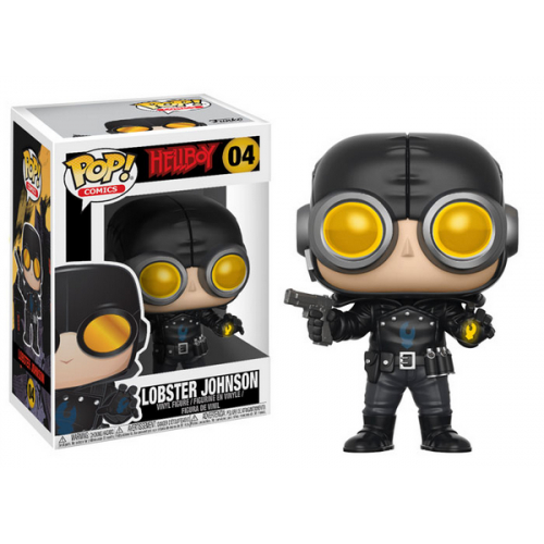FUNKO POP Hellboy Lobster Johnson 04