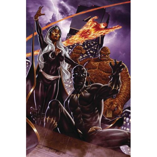 FANTASTIC FOUR 1 Brooks Return of Fantastic Four Variant (VO)