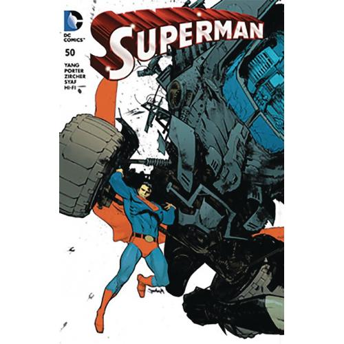 DF SUPERMAN 50 MURPHY JETPACK FORBIDDEN COMICS
