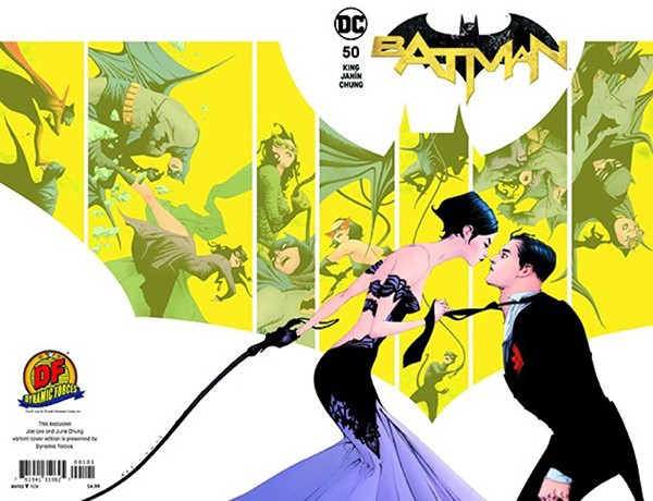 BATMAN 50 DYNAMIC FORCES EXCLUSIVE BY JAE LEE