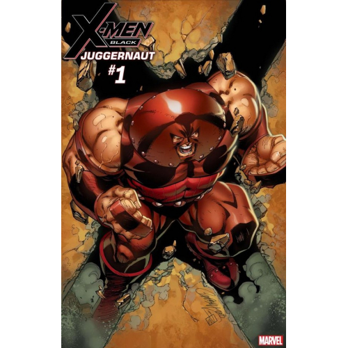 X-MEN BLACK – JUGGERNAUT 1 (VO) J. SCOTT CAMPBELL