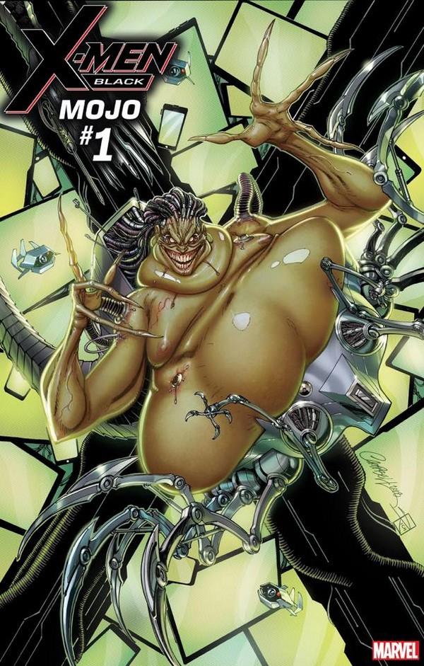 X-MEN BLACK – MAGNETO 1 (VO) J. SCOTT CAMPBELL - CHRIS CLAREMONT