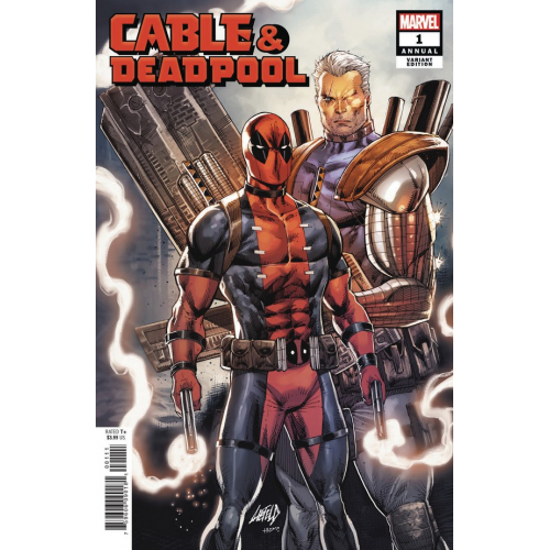 CABLE DEADPOOL ANNUAL 1 LIEFELD VARIANT (VO)