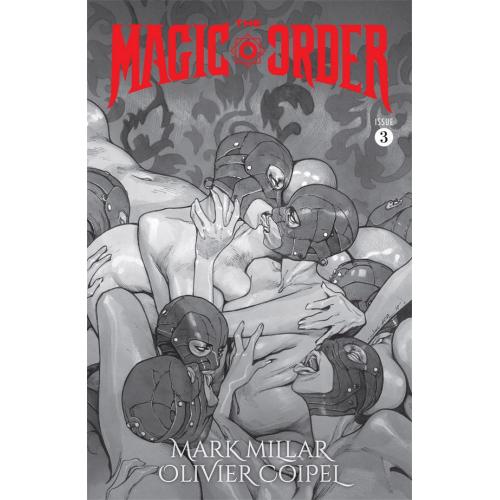 The Magic Order 3 Cover B (VO) Mark Millar - Olivier Coipel