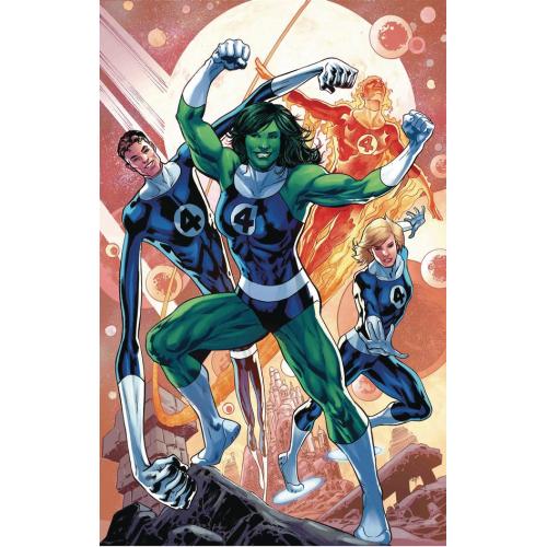 Thor 4 Hitch Return of Fantastic Four Variant (VO)