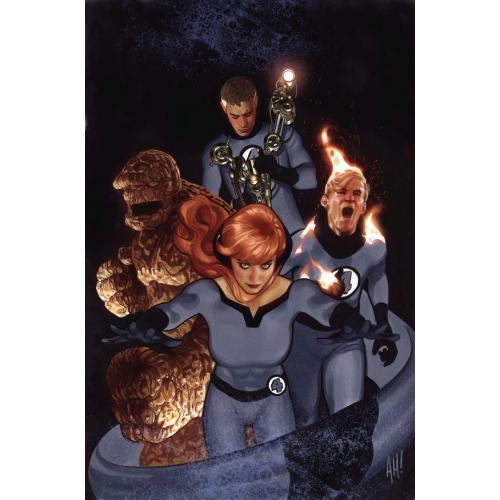 Tony Stark Iron Man 3 Hugues Return of Fantastic Four Variant (VO)