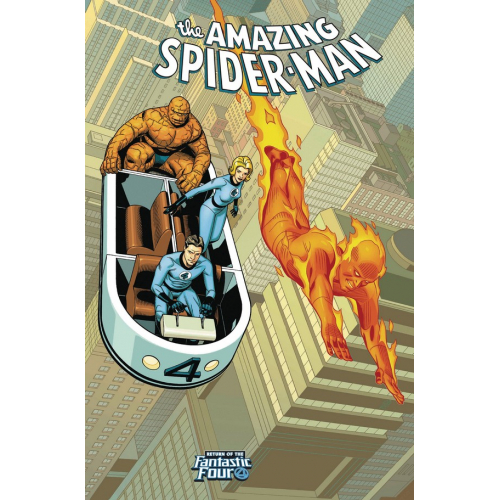AMAZING SPIDER-MAN 4 SPROUSE RETURN OF FANTASTIC FOUR VARIANT (VO)