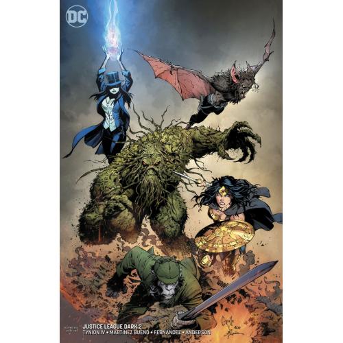 Justice League Dark 2 Capullo Variant (VO)