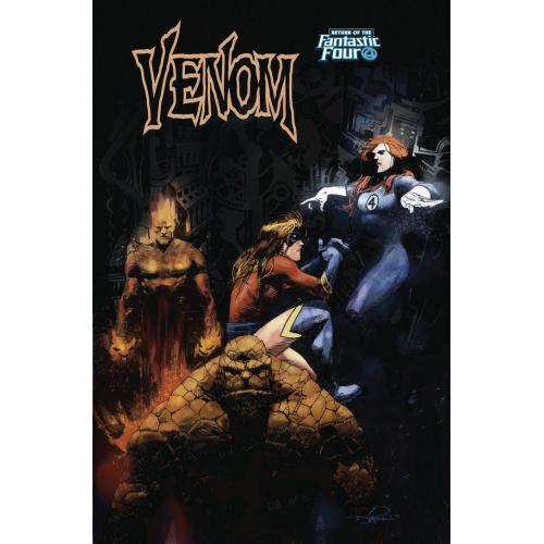 Venom 5 ZAFFINO RETURN OF FANTASTIC FOUR VARIANT(VO)
