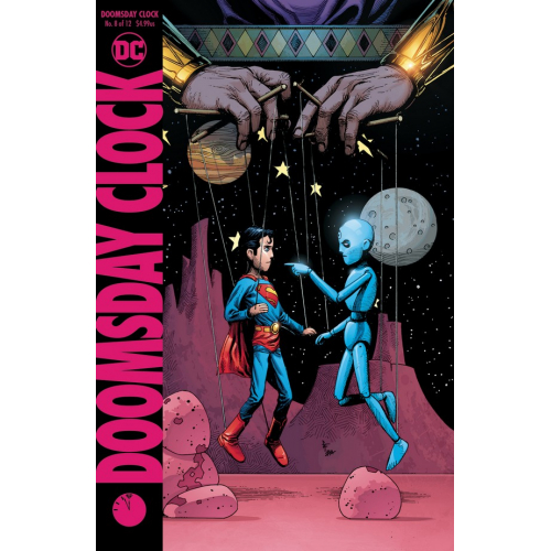 DOOMSDAY CLOCK 8 Cover B (VO)