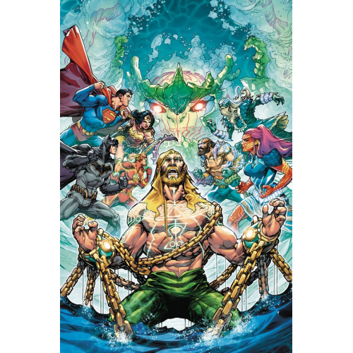 JUSTICE LEAGUE AQUAMAN DROWNED EARTH 1 (VO)