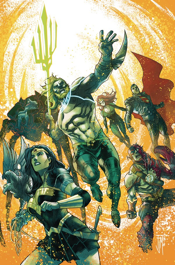AQUAMAN JUSTICE LEAGUE DROWNED EARTH 1 (VO)
