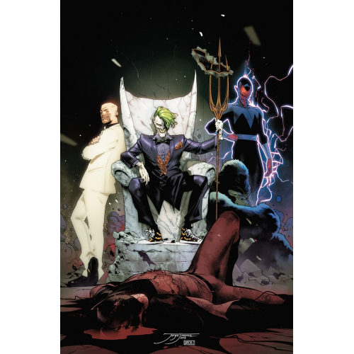 JUSTICE LEAGUE 12 (DROWNED EARTH) (VO)