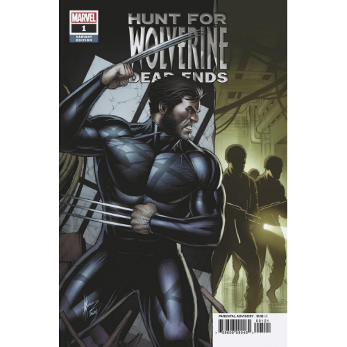 HUNT FOR WOLVERINE DEAD ENDS 1 KEOWN VAR (VO)