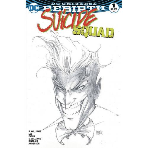 Suicide Squad 1 (VO) Michael Turner Exclusive Aspen Variant