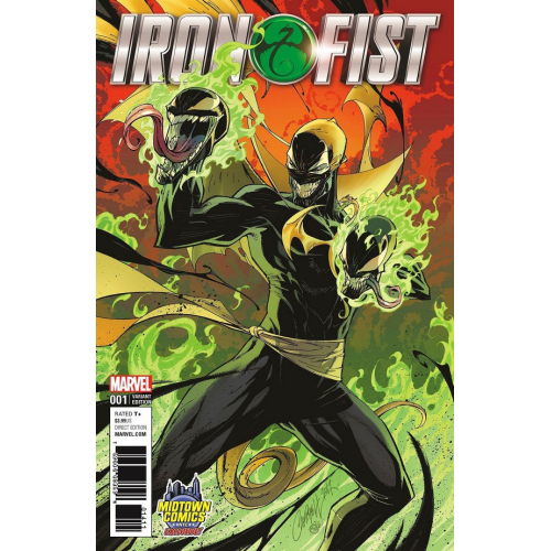 IRON FIST (VOL 5) 1 (VO) J. SCOTT CAMPBELL VARIANT