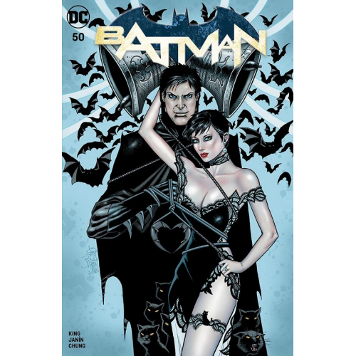 BATMAN 50 JIM BALENT VARIANT (RARE)