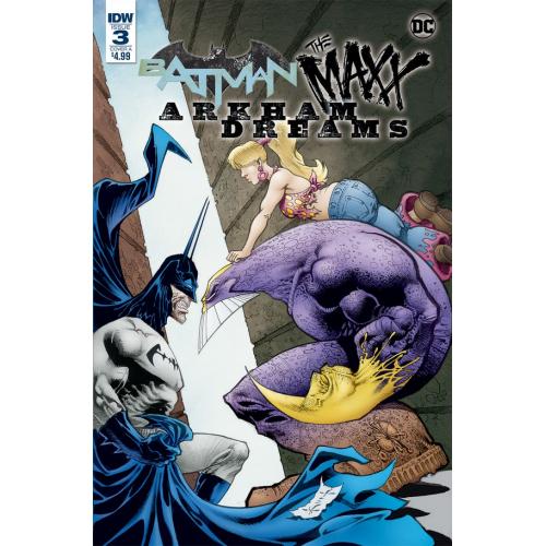 BATMAN - THE MAXX - ARKHAM DREAMS 3 (VO)