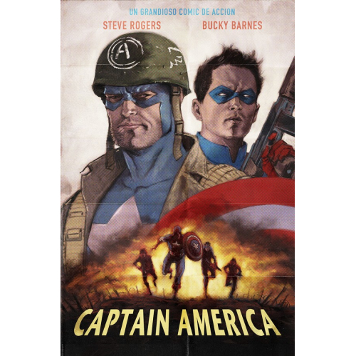 CAPTAIN AMERICA ANNUAL 1 KAARE ANDREWS VARIANT (VO)