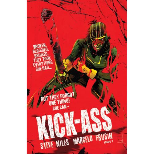 KICK-ASS 7 CVR D JOCK (VO)