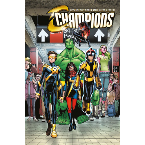 Champions Tome 1 (VF)