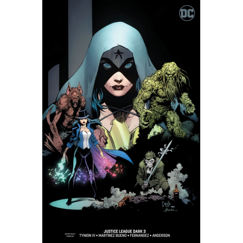 Justice League Dark 3 Capullo Variant (VO)
