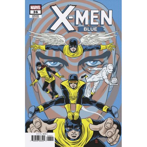 X-Men Blue 36 Allred Final Issue Variant (VO)