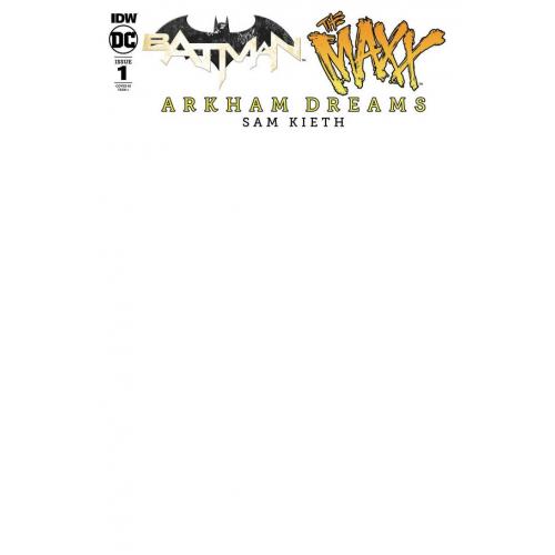 BATMAN - THE MAXX - ARKHAM DREAMS 10 Incentive Blank (VO)