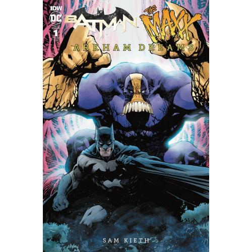 BATMAN - THE MAXX - ARKHAM DREAMS 25 Copy Incentive Jim Lee Variant (VO)