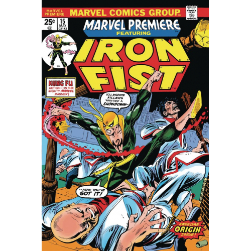 IRON FIST BY THOMAS & KANE 1(VO)