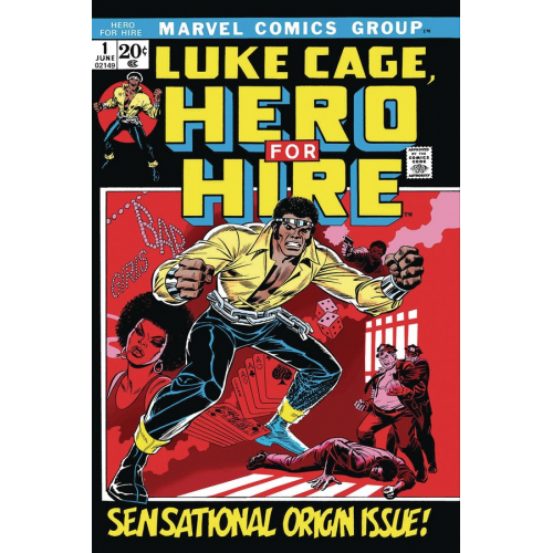 LUKE CAGE HERO FOR HIRE 1(VO)