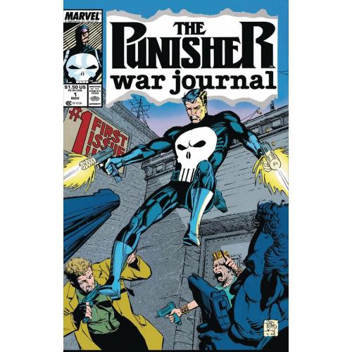 PUNISHER WAR JOURNAL BY POTTS & LEE 1(VO)