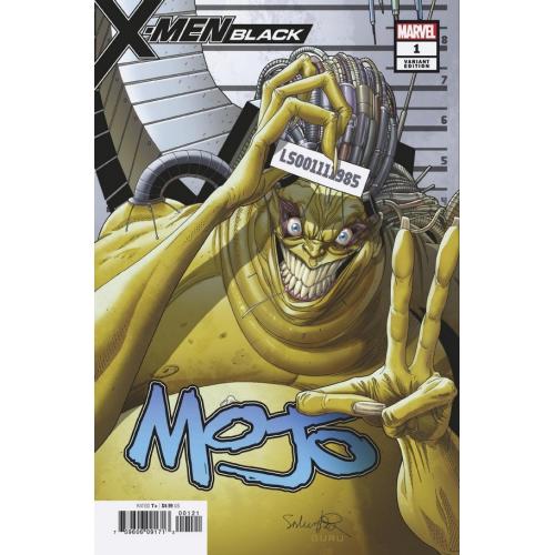 X-MEN BLACK MOJO 1 LARROCA MUGSHOT VAR (VO) J. SCOTT CAMPBELL - NICK BRADHSAW