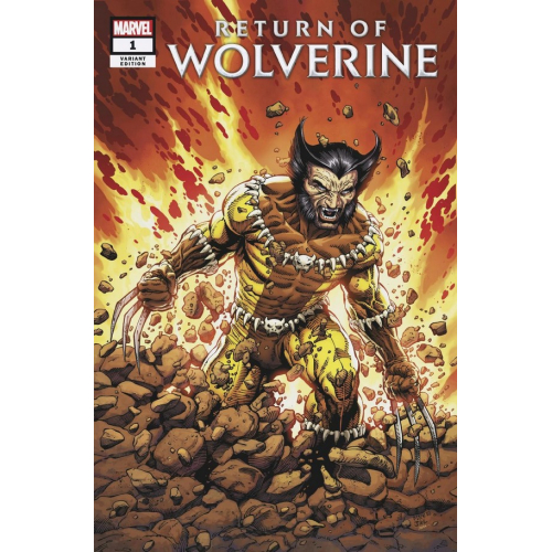 RETURN OF WOLVERINE 1 (VO) FANG VARIANT