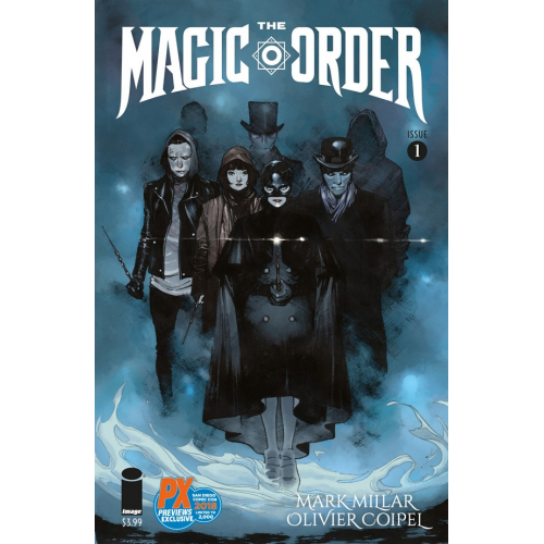 The Magic Order 1 (VO) Mark Millar - Olivier Coipel - PX EXCLUSIVE limited to 2000