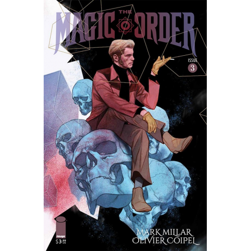 The Magic Order 3 (VO) Mark Millar - Olivier Coipel - Ben Oliver Variant