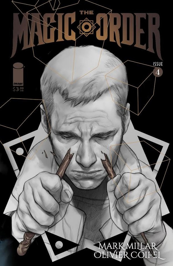 The Magic Order 4 Cover B Coipel (VO) Mark Millar - Olivier Coipel